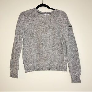 Tommy Hilfiger Cropped Cable Knit Sweater - #1039